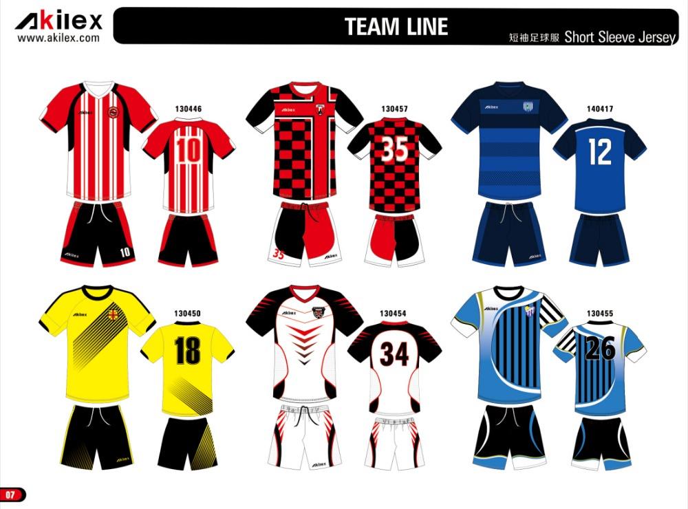 Custom Football Jersey Design Soccer Jersey Kit Football