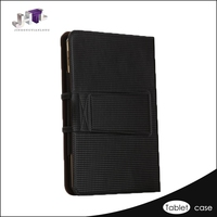 Latest leather tablet pc case keyboard 10 inch