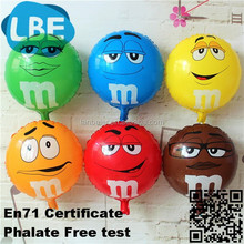 smile inflated balloon advertising