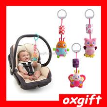 OXGIFT Animal bed hanging plush baby toys