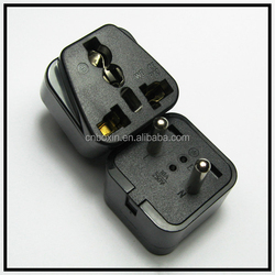China Top quality Cheapest universal to EU multiple plug adapter CE