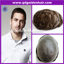 Indian Remy Human Hair Toupee For Men,Injection Thin Pu Toupee