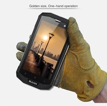 Quad Core Android 4.4 OS 5inch MANN ZUG 5S Waterproof Phone Pouch Dust Proof