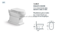 S4813 White porcelain made in China top quality hotel toilet bowl