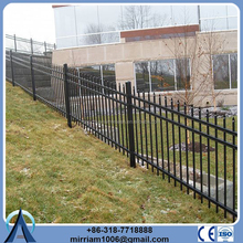 """48"""" height 54"""" height 72"""" height ornamental fence commercial and construction wrought iron fence"""
