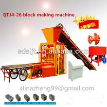 De enclavamiento qtj4-26 molde de ladrillo pavimentadora bloque de precios