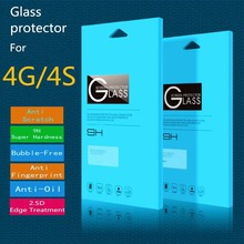 New Arrival Nuglas 99% transparents tempered glass screen protector for Iphone 6 6 Plus