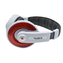 Customized logo style ,Hottest headphone with 3.5 mm plug, TF card support