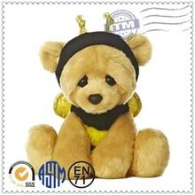 Best quality new design animal bee bear plush toys