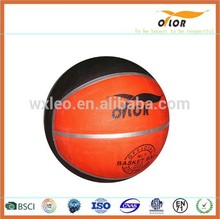 12 pannels Size 7 China manufacture high quality professional colorful basketball