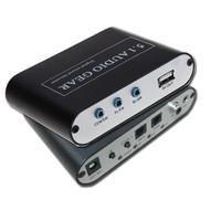SPDIF to AV audio 5.1 Audio Gear Digital Sound Decoder AV converter