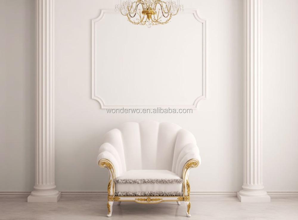 Di lusso nuovo design moderno bianco hotel lobby divano letto ...