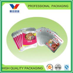 laminated vacuum food bags/food vacuum plastic bag for meat/beef/chicken leg