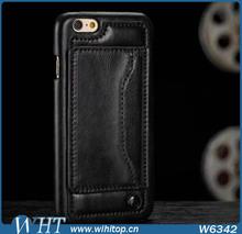 Elegant Leather & TPU Hybrid Case For iPhone 6 4.7 inch