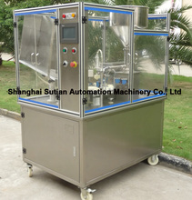 MTGF-25 automatic ultrasonic plastic tube filling sealing machine/solution for cosmetic packing