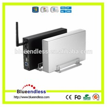 WIFI USB 3.0 HDD Hard Drive Disk Sata to USB 3.0 Enclosure 3.5inch