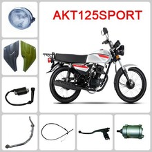 AKT 125 SPORT motorcycle spare part Front Wheel & Front Hub & Rim & Tire & Shoe Brake