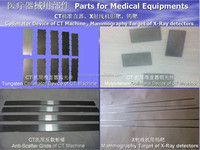 Tungsten or moly parts for CT machine from professional manufacturer