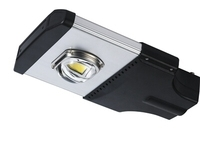 50W COB LED Street Light,Bridgelux chip,Meanwell driver,5 years warranty