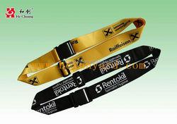 personalized nylon pass word lock luggage belt