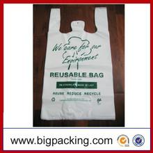 OEM Cheap Plastic Bag Custom Printed HDPE Soft Loop Retail Plastic Shopping Bag, HDPE/LDPE printed plastic shopping bag,