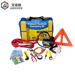 36 pieces car roadside emergency kit for car maintenance