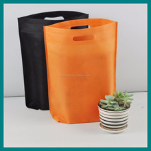 firm punch non woven shopping packaging bag