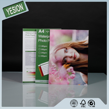 Yesion 2015 Hot Sales ! Wholesale 115gsm-260gsm A4 Inkjet High Glossy Photo Paper Used Printer Photo Digital Minilab