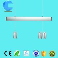 Q&C ligting modern design silver led chandelier for work light