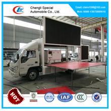 Forland 6m led mobile truck for sale, led mobile stage truck for sale, led advertising truck