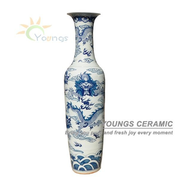 2 2 meter and 6 feet tall hand painted large chinese