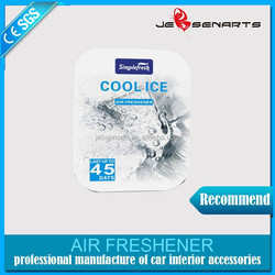 initial air freshener/car perfume sheet/solid air freshener