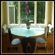 indoor or outdoor use glass dinning table