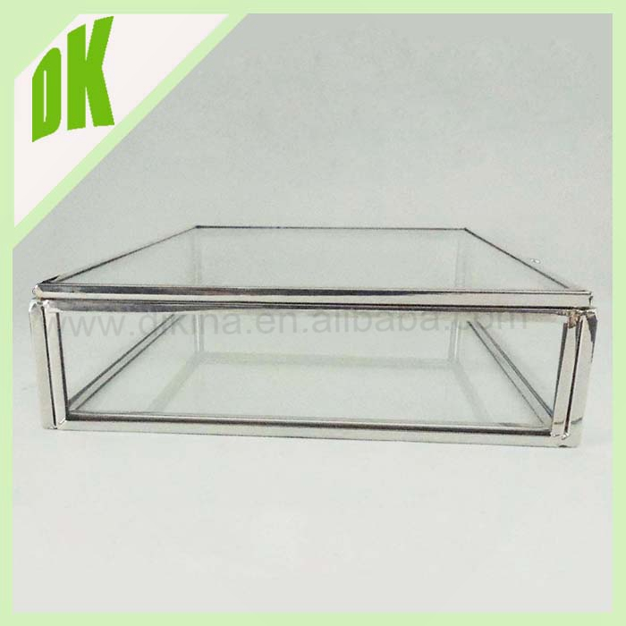 Glass Jewelry Box Small Click to expand Small glass jewelry box