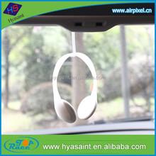 2015 brandnew design headset shape auto scent air freshener for car