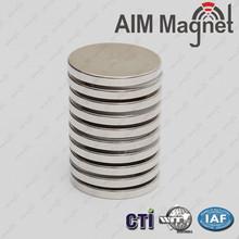 N35 6mm diameter 3mm height of neodymium disc magnets