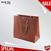 spotting uv hot stamping coated shopping human engineering art paper bag