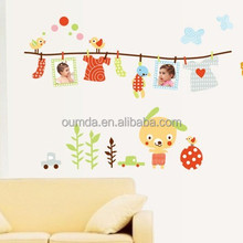 Fashionable room decor 3d wall stickers wholesale