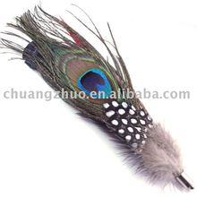 Fashion Natural Purple Ostrich Feather supplier