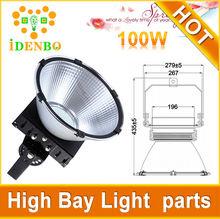 AC 90V-305V meanwell driver bridgelux chip 70W 100W 150W 200w led high bay light ul