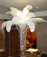 OSTRICH FEATHER CENTERPIECES FOR WEDDING DECORATION