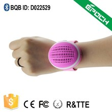 High quality super cheap bluetooth active watch speaker with multifunction for promotional festival children gift