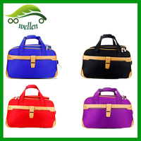 Waterproof portable travel luggage bag, large capacity leisure travel overnight bags