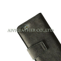 2013 new design flip leather case for iphone5, for ipone accessory