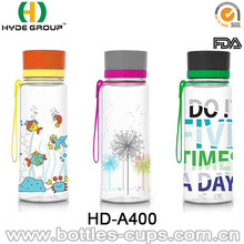 Plastic sport bpa free water bottle for water drinking