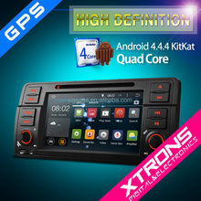 """XTRONS PF7346BA 7"""" Android 4.4.4 Kitkat Quad-Core touchscreen 1 din 7 inch car dvd player for bmw with CANbus Wifi 3G GPS"""