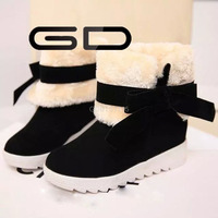 latest design womens casual rubber snow shoes for reseller