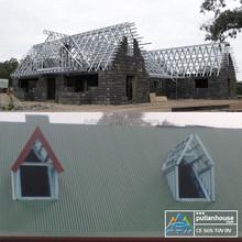 Luxury prefab beach house building prefabricated villa for sale