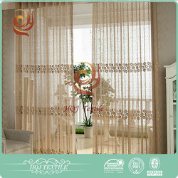 Window curtains design Window use Fashion hot sale china window curtain from china