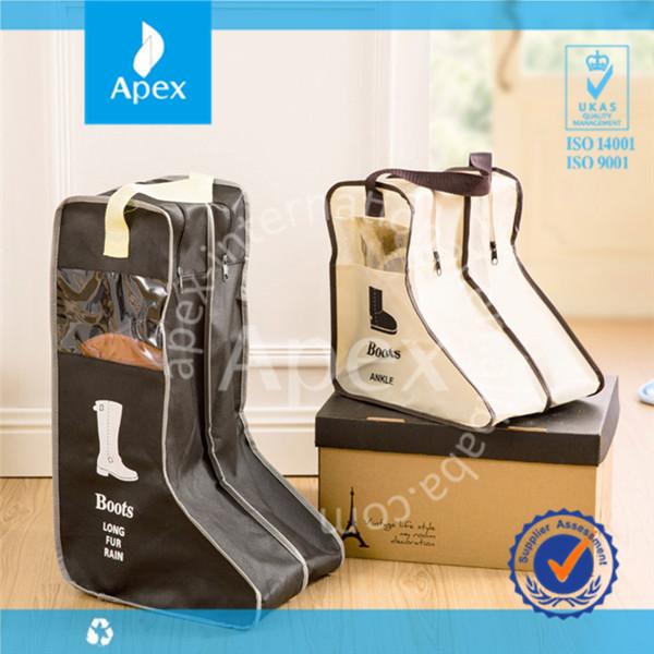 Personnalisé en forme de fer sac sac à chaussures